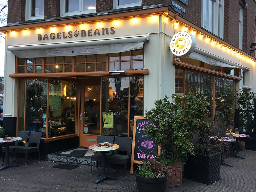 """Photo of Bagels & Beans - De Clercqstraat  by <a href=""""/members/profile/hack_man"""">hack_man</a> <br/>Outside  <br/> January 3, 2018  - <a href='/contact/abuse/image/49248/342537'>Report</a>"""