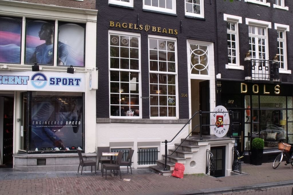 """Photo of Bagels & Beans - Keizersgracht  by <a href=""""/members/profile/Amy1274"""">Amy1274</a> <br/>Exterior <br/> June 17, 2016  - <a href='/contact/abuse/image/49250/154416'>Report</a>"""