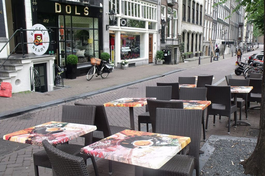 """Photo of Bagels & Beans - Keizersgracht  by <a href=""""/members/profile/Amy1274"""">Amy1274</a> <br/>Outdoor Seating <br/> June 17, 2016  - <a href='/contact/abuse/image/49250/154417'>Report</a>"""