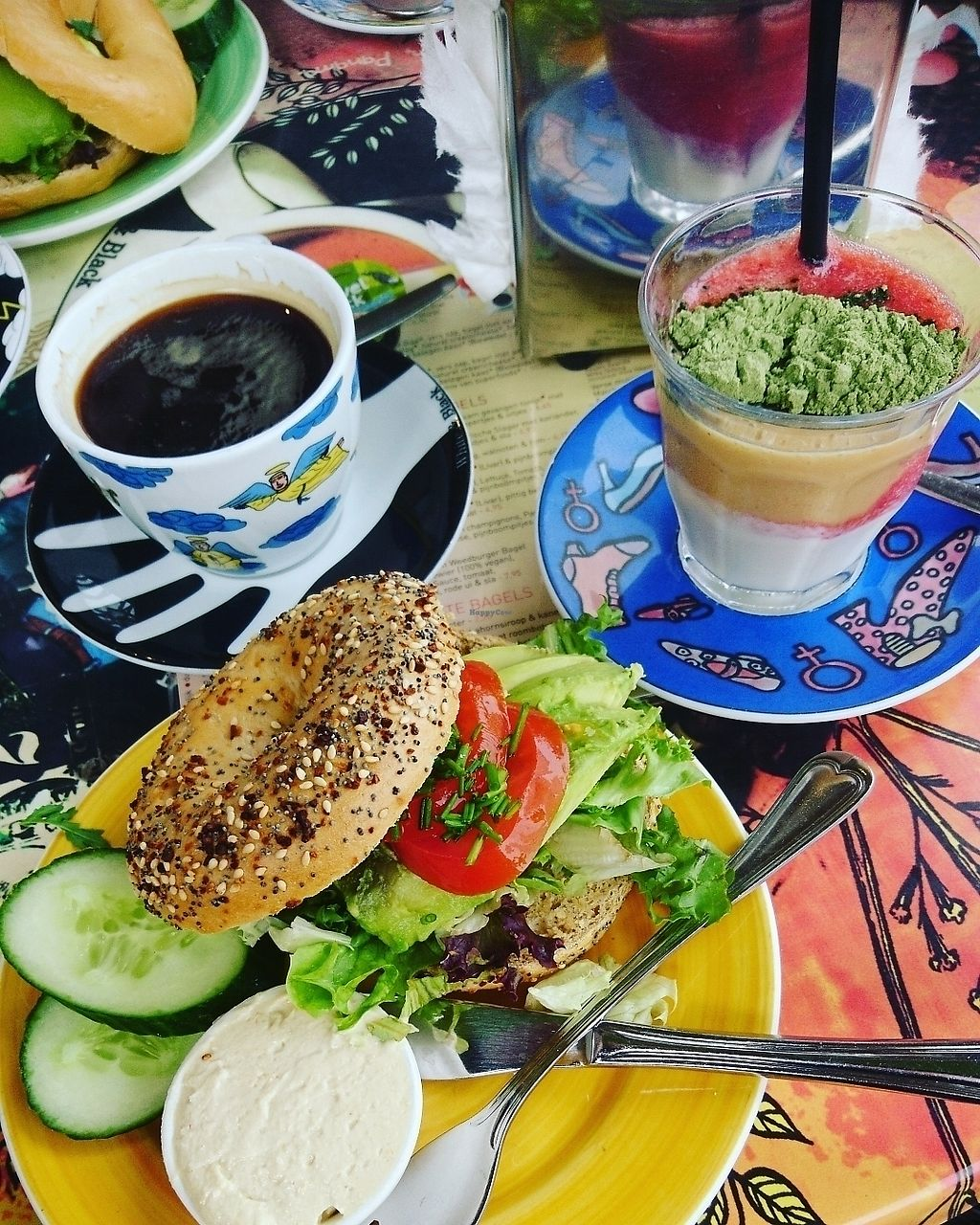"Photo of Bagels & Beans - Ruyschstraat  by <a href=""/members/profile/JennyHell"">JennyHell</a> <br/>Vegan breakfast  <br/> July 22, 2017  - <a href='/contact/abuse/image/49256/283166'>Report</a>"