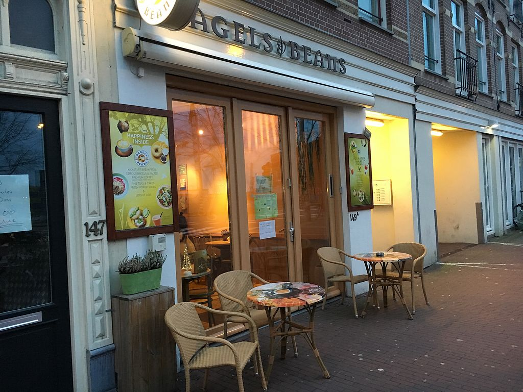 "Photo of Bagels & Beans - Spaarndammerstraat  by <a href=""/members/profile/hack_man"">hack_man</a> <br/>Exterior  <br/> January 1, 2018  - <a href='/contact/abuse/image/49257/341667'>Report</a>"