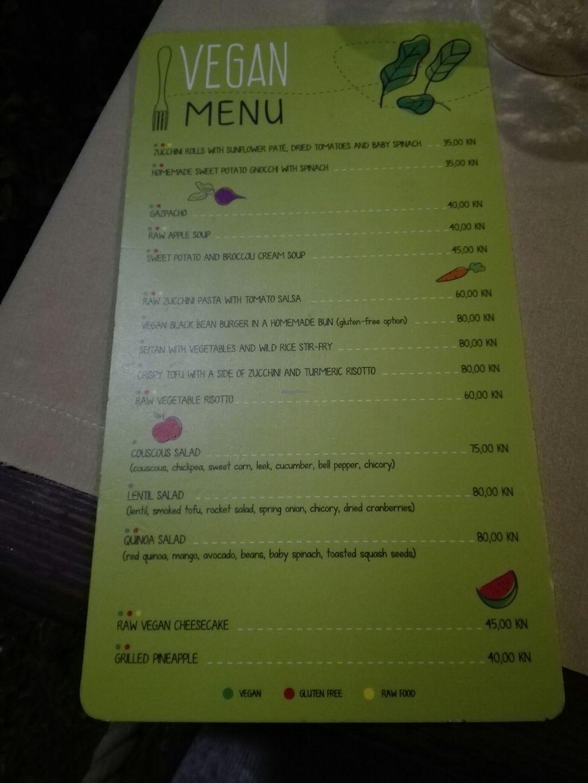 "Photo of Fameja - Vita Health Food Bar  by <a href=""/members/profile/InnaHaataja"">InnaHaataja</a> <br/>vegan menu <br/> August 22, 2017  - <a href='/contact/abuse/image/49276/295566'>Report</a>"
