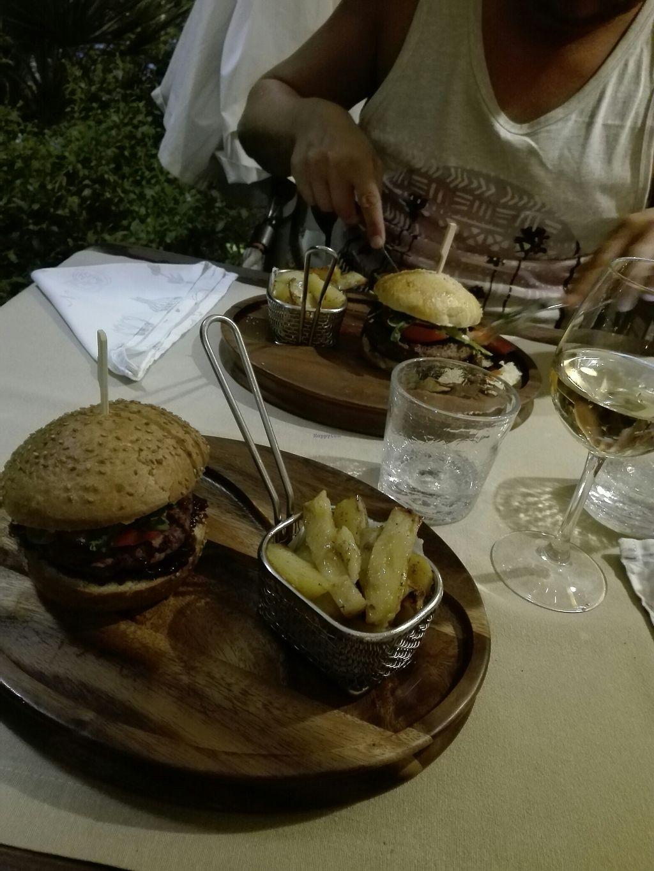 "Photo of Fameja - Vita Health Food Bar  by <a href=""/members/profile/InnaHaataja"">InnaHaataja</a> <br/>Black bean burger  <br/> August 22, 2017  - <a href='/contact/abuse/image/49276/295567'>Report</a>"
