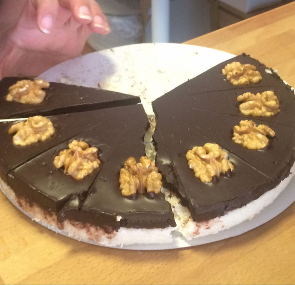 """Photo of Sisbakery  by <a href=""""/members/profile/serrarose"""">serrarose</a> <br/>raw coconut chocolate cake  <br/> June 22, 2016  - <a href='/contact/abuse/image/49294/155451'>Report</a>"""