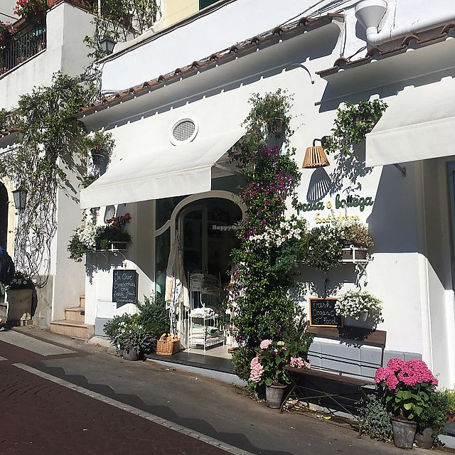 "Photo of Casa e Bottega Positano  by <a href=""/members/profile/nicgarwil"">nicgarwil</a> <br/>Exterior  <br/> June 20, 2017  - <a href='/contact/abuse/image/49295/271333'>Report</a>"