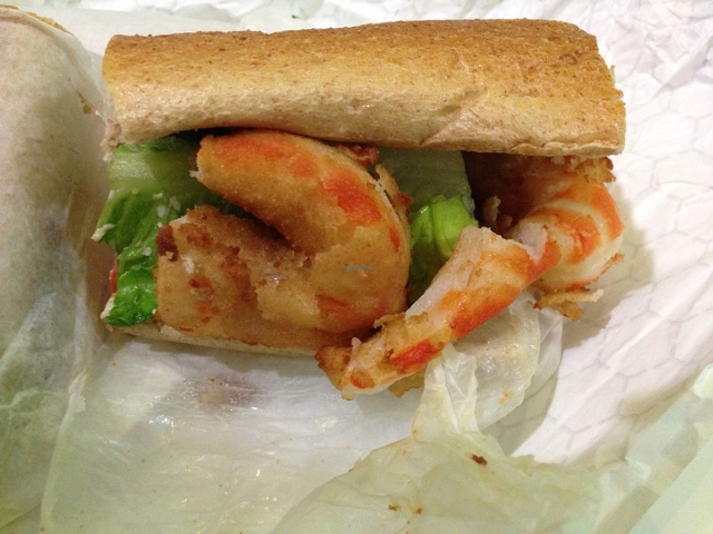 """Photo of VLife  by <a href=""""/members/profile/slo0go"""">slo0go</a> <br/>po boy sandwich <br/> November 3, 2015  - <a href='/contact/abuse/image/49302/123671'>Report</a>"""