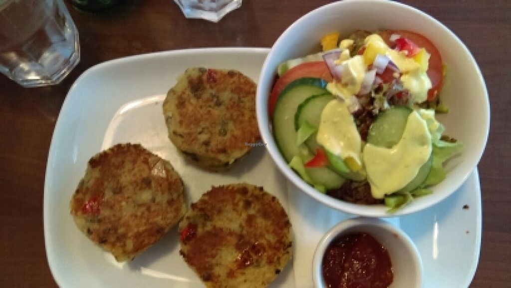 """Photo of The Fig Tree  by <a href=""""/members/profile/InHerImagePhoto"""">InHerImagePhoto</a> <br/>potato lentil cakes! <br/> June 27, 2016  - <a href='/contact/abuse/image/49305/156388'>Report</a>"""