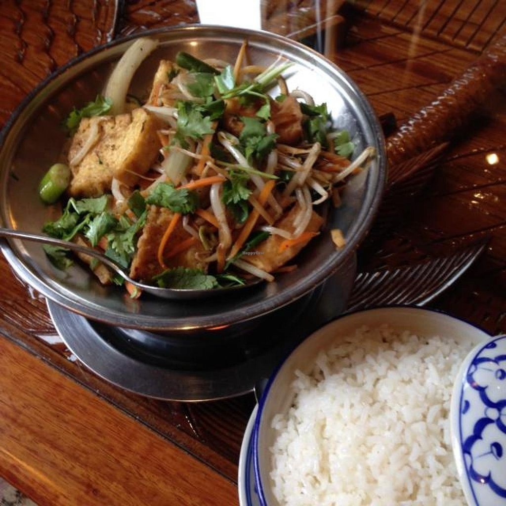 """Photo of Asia Bambus  by <a href=""""/members/profile/Brok%20O.%20Lee"""">Brok O. Lee</a> <br/>Vegan Fried Tofu and Vegetables <br/> August 4, 2014  - <a href='/contact/abuse/image/49321/76042'>Report</a>"""