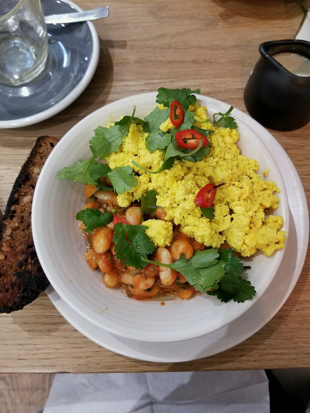 "Photo of Kin Cafe  by <a href=""/members/profile/tikhonova87"">tikhonova87</a> <br/>Mexican breakfast vegan option <br/> March 19, 2018  - <a href='/contact/abuse/image/49333/372798'>Report</a>"