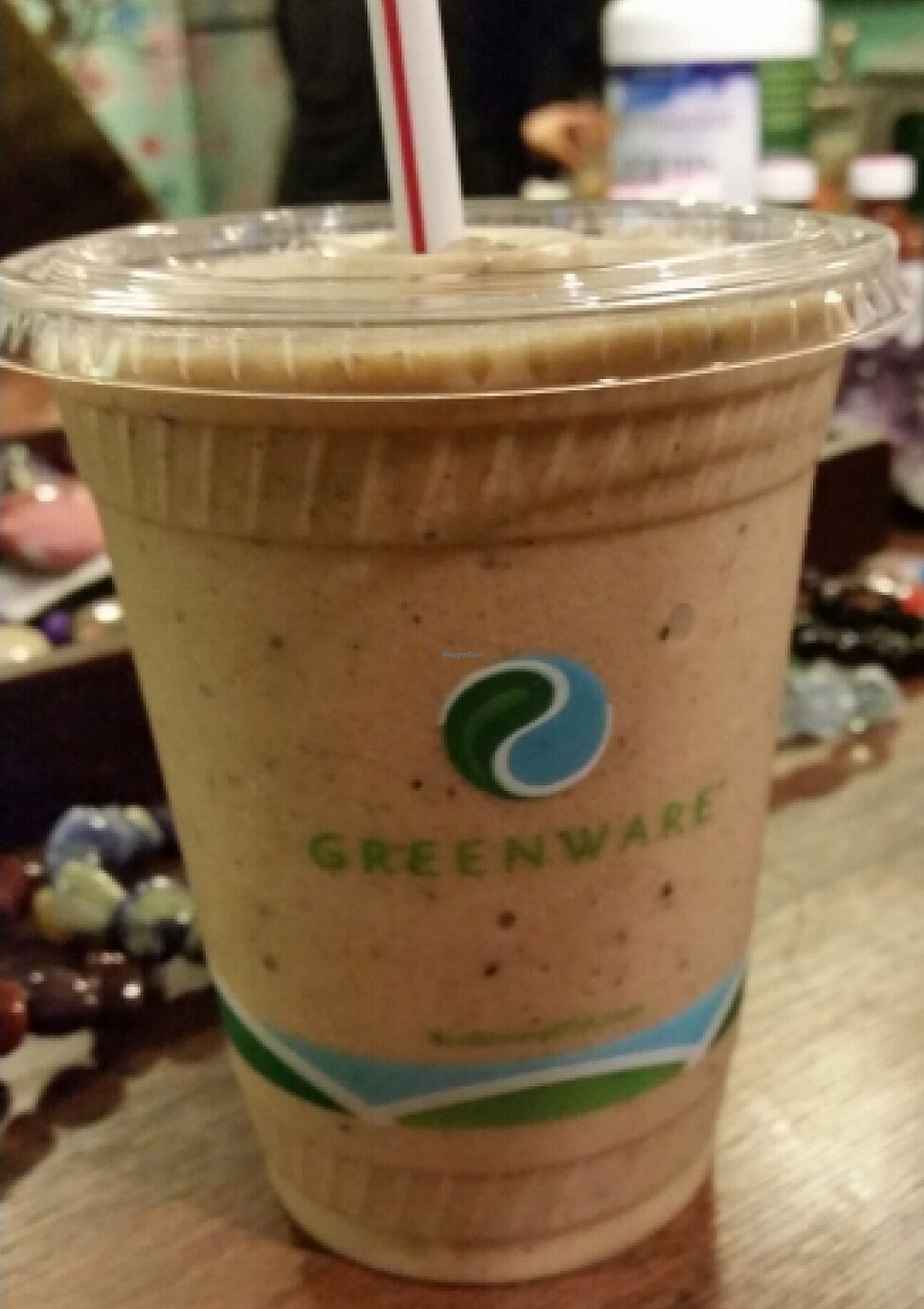 """Photo of Zen Bar  by <a href=""""/members/profile/EverydayTastiness"""">EverydayTastiness</a> <br/>Java bliss smoothie <br/> January 18, 2016  - <a href='/contact/abuse/image/49346/195561'>Report</a>"""