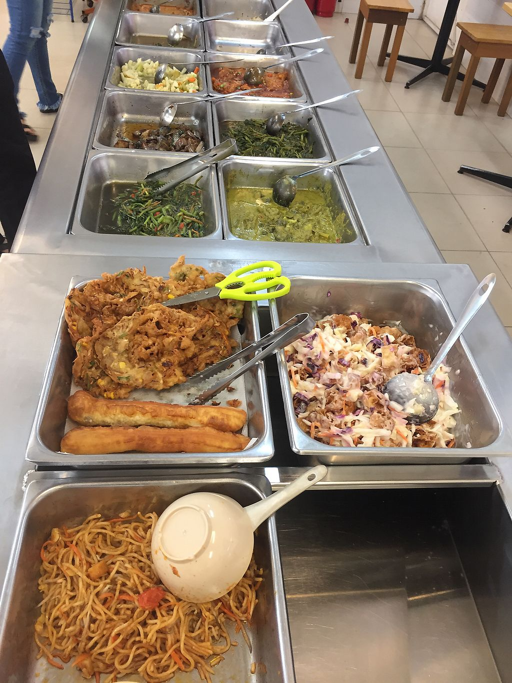 """Photo of Gong De Lin Vegetarian  by <a href=""""/members/profile/Josi"""">Josi</a> <br/>Veggie Buffet <br/> March 21, 2018  - <a href='/contact/abuse/image/49377/373602'>Report</a>"""