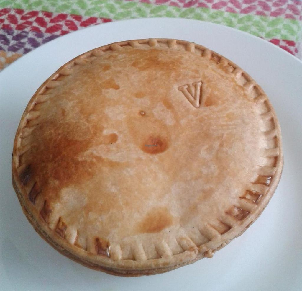 """Photo of Pasticcio Vegan Pies  by <a href=""""/members/profile/NatashaV"""">NatashaV</a> <br/>Vegetable curry pie <br/> September 13, 2014  - <a href='/contact/abuse/image/49387/79790'>Report</a>"""