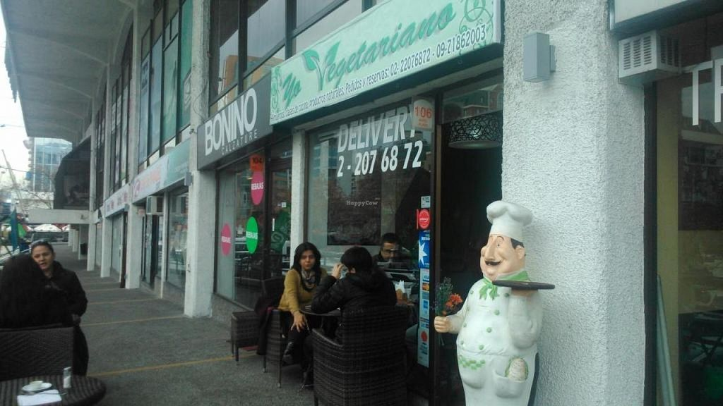 """Photo of Eat Your Veggies - Yo Vegetariano  by <a href=""""/members/profile/arya00"""">arya00</a> <br/>This is what it looks like from the outside <br/> August 4, 2014  - <a href='/contact/abuse/image/49396/75926'>Report</a>"""