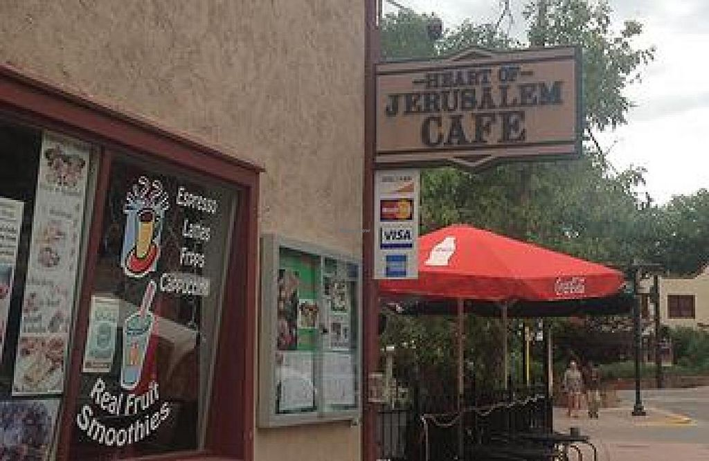 """Photo of Heart of Jerusalem Cafe  by <a href=""""/members/profile/community"""">community</a> <br/>Heart of Jerusalem Cafe <br/> July 31, 2014  - <a href='/contact/abuse/image/49423/75709'>Report</a>"""