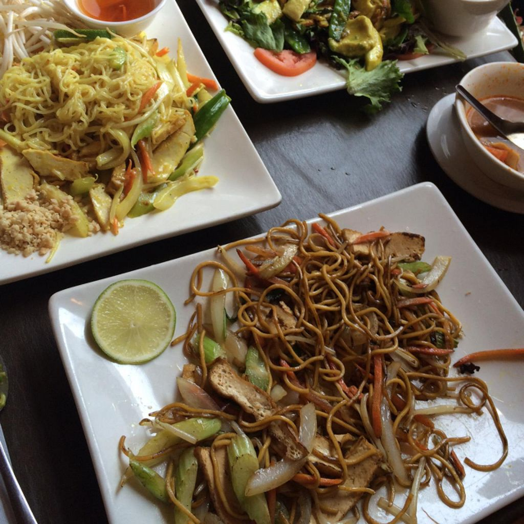 My Vegan Thai Cafe Menu