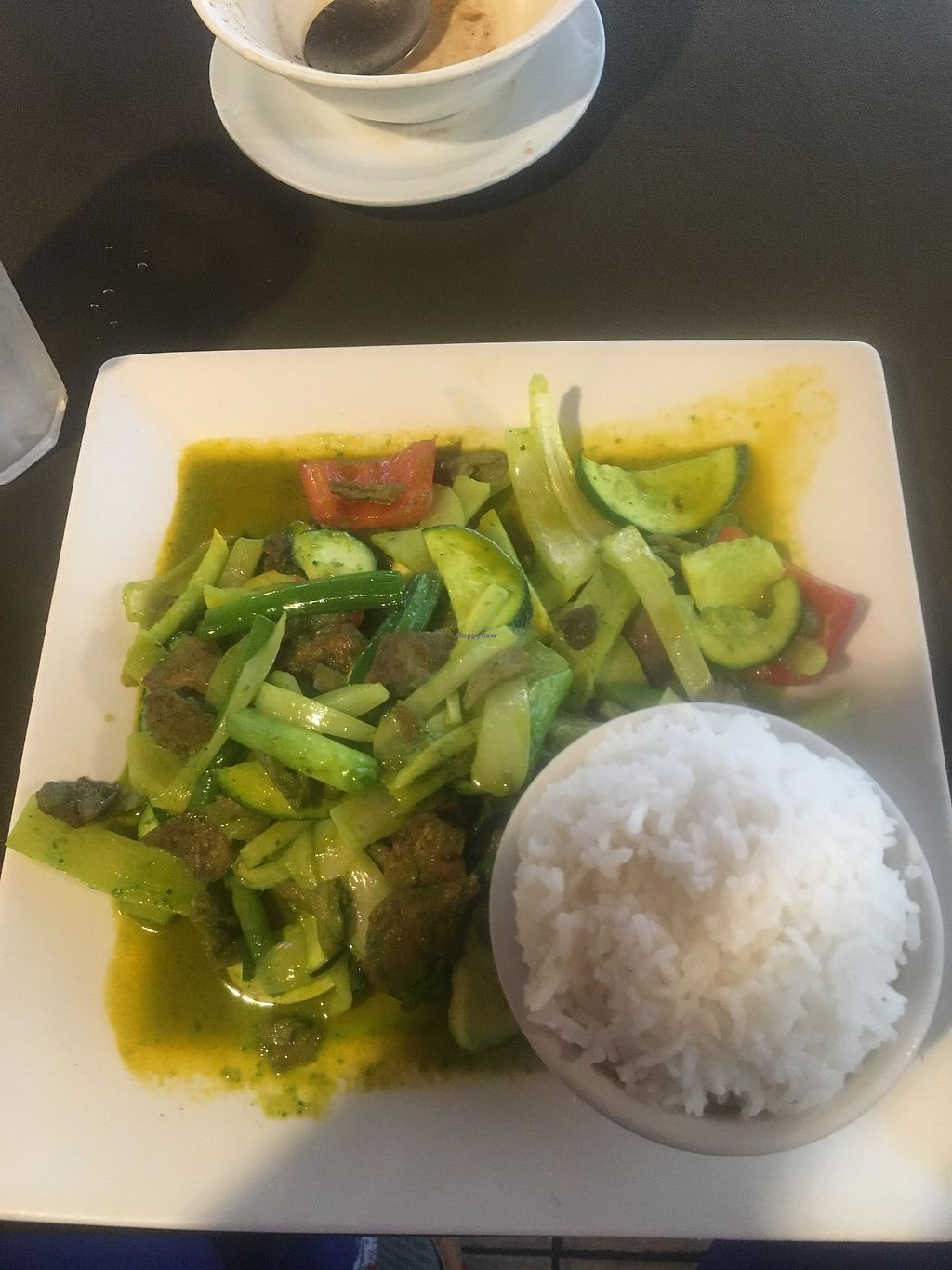 """Photo of My Thai Vegan Cafe  by <a href=""""/members/profile/770veg"""">770veg</a> <br/>Thai green curry <br/> April 25, 2018  - <a href='/contact/abuse/image/4965/390968'>Report</a>"""