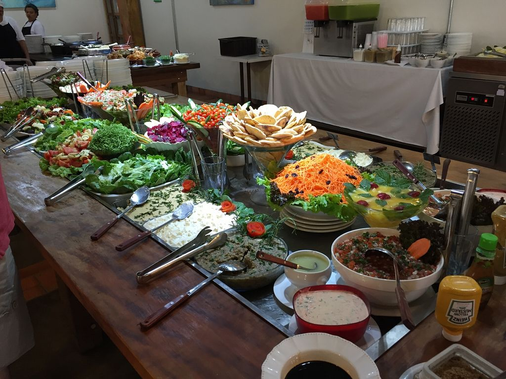 """Photo of Recanto Vegetariano  by <a href=""""/members/profile/Paolla"""">Paolla</a> <br/>Salad buffet <br/> September 27, 2015  - <a href='/contact/abuse/image/4978/119385'>Report</a>"""
