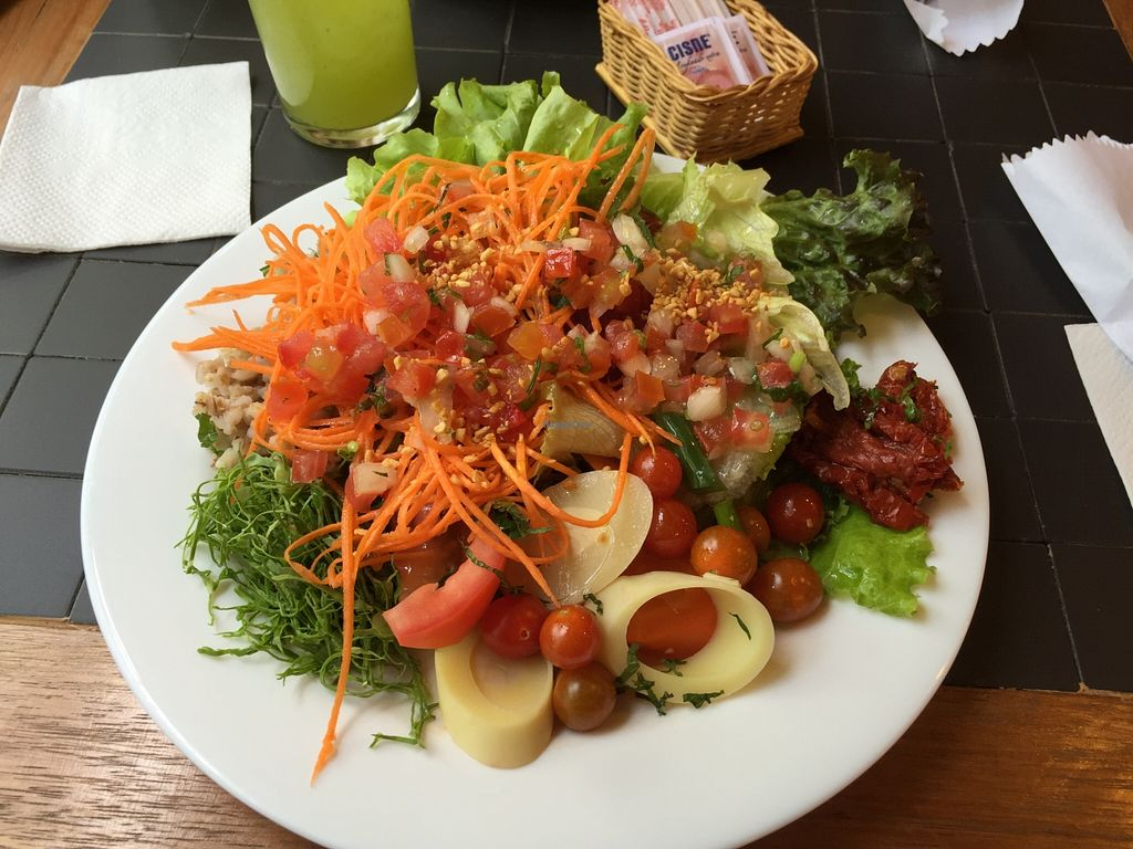 """Photo of Recanto Vegetariano  by <a href=""""/members/profile/Paolla"""">Paolla</a> <br/>Some of the options of the salad buffet <br/> September 27, 2015  - <a href='/contact/abuse/image/4978/119386'>Report</a>"""