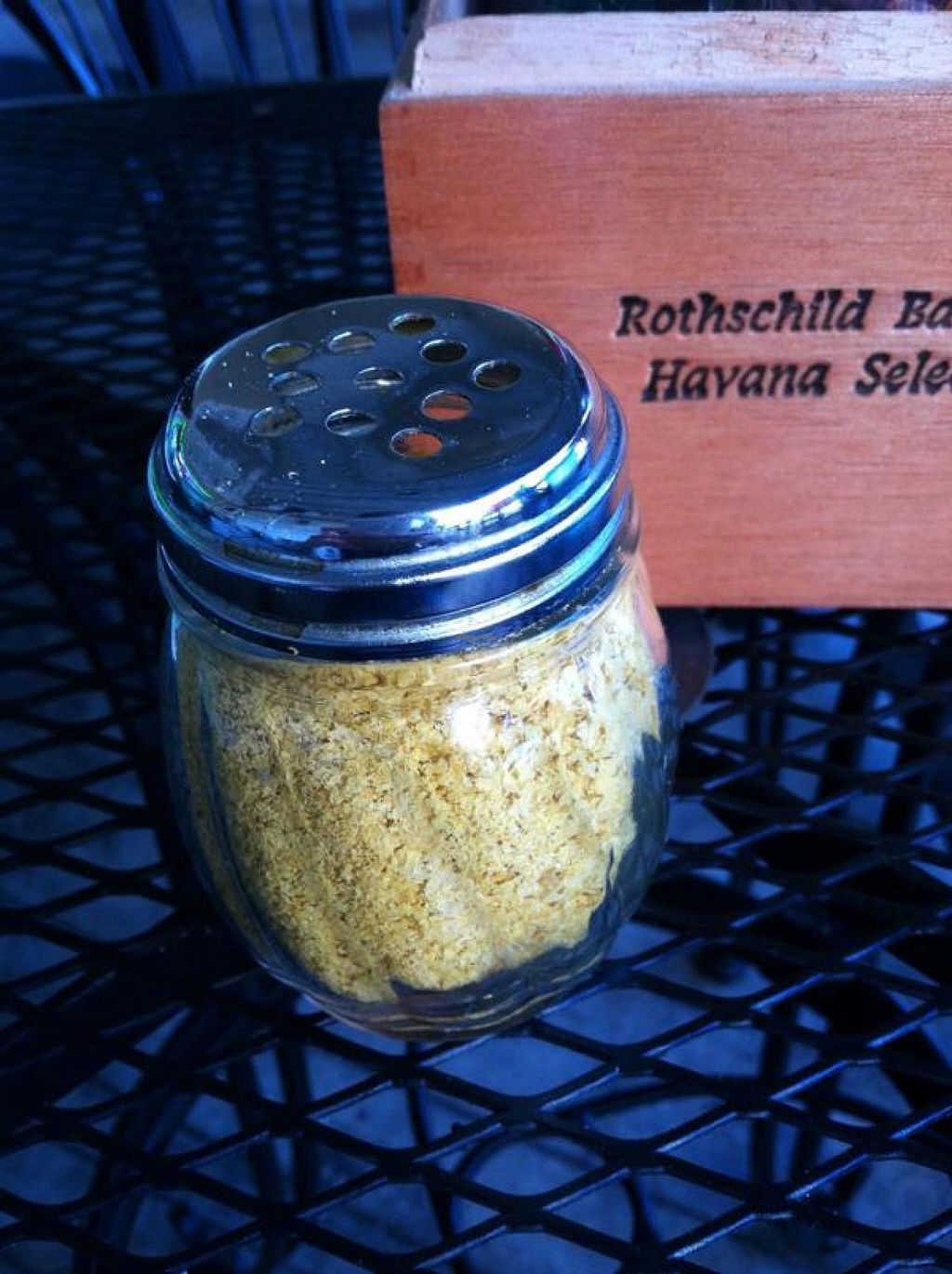 """Photo of Devine Pastabilities  by <a href=""""/members/profile/Meggie%20and%20Ben"""">Meggie and Ben</a> <br/>Nutritional yeast shaker! <br/> December 1, 2014  - <a href='/contact/abuse/image/4986/86996'>Report</a>"""