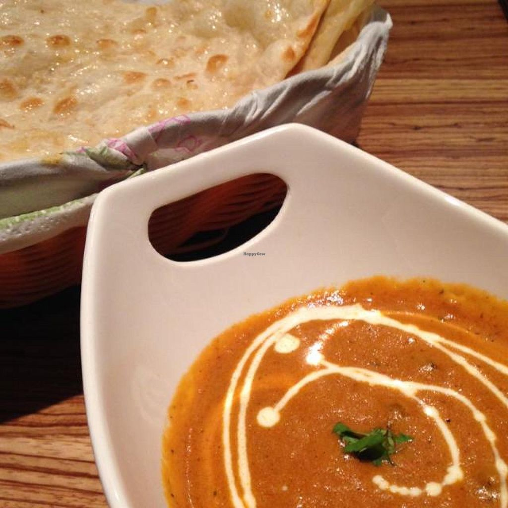 """Photo of Sweet India  by <a href=""""/members/profile/Ms_%20J"""">Ms_ J</a> <br/>Vegetable Curry + Garlic Nann <br/> August 31, 2014  - <a href='/contact/abuse/image/50002/78713'>Report</a>"""