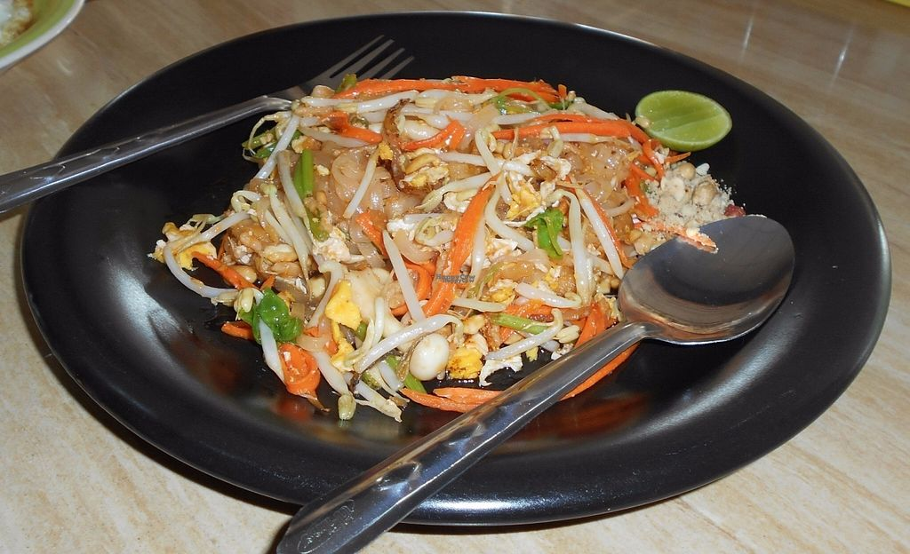 "Photo of CLOSED: Mea Nuu Vegetarian Food  by <a href=""/members/profile/Kelly%20Kelly"">Kelly Kelly</a> <br/>Mea Nuu Vegetarian Restaurant - Pad Thai - average <br/> October 29, 2016  - <a href='/contact/abuse/image/50006/185093'>Report</a>"