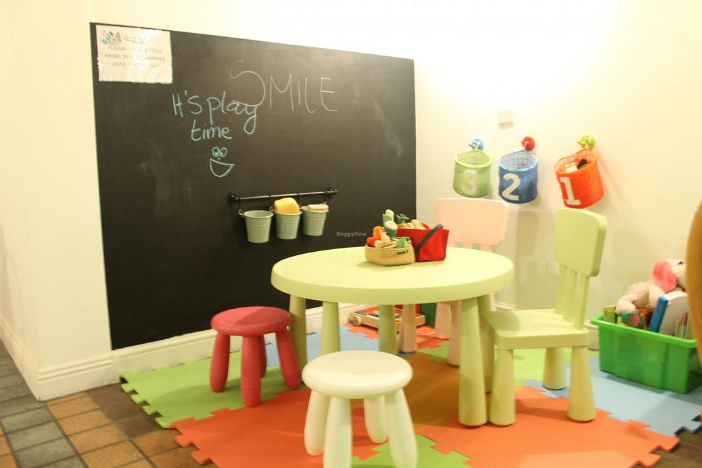 "Photo of CLOSED: Bubble Tea Paradise Healthy Cafe  by <a href=""/members/profile/bubblecouple"">bubblecouple</a> <br/>Our beautiful children area specially designed for kids to have healthy meal and play time in one. Parents and children can enjoy at the same time. Enjoy Healthy! <br/> September 21, 2014  - <a href='/contact/abuse/image/50008/80587'>Report</a>"