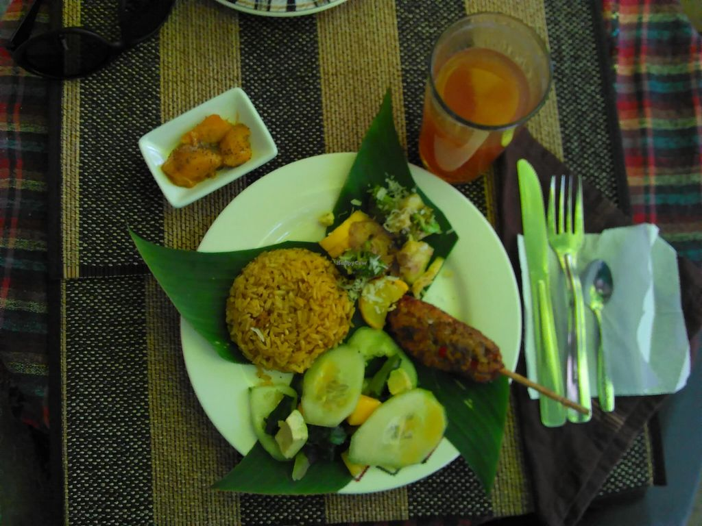 """Photo of Espiritu Libre  by <a href=""""/members/profile/maynard7"""">maynard7</a> <br/>Meal of the day in January, 2016. Today they made a typical meal from Bali, Indonesia <br/> January 30, 2016  - <a href='/contact/abuse/image/50009/134191'>Report</a>"""