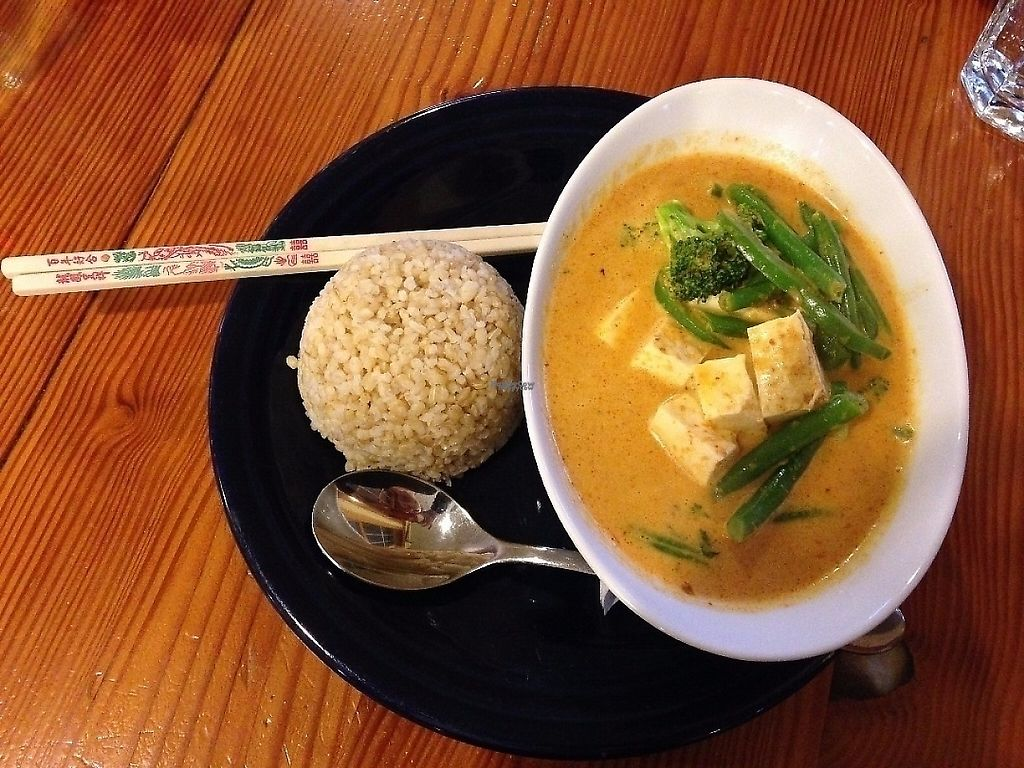 "Photo of Vida's Thai Food  by <a href=""/members/profile/Sarah%20P"">Sarah P</a> <br/>Panang curry with tofu and brown rice <br/> September 25, 2016  - <a href='/contact/abuse/image/50021/190270'>Report</a>"