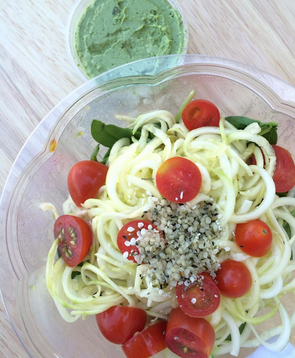 "Photo of Juice Core  by <a href=""/members/profile/Maluki"">Maluki</a> <br/>Rawsta salad with pesto <br/> May 6, 2015  - <a href='/contact/abuse/image/50040/189645'>Report</a>"