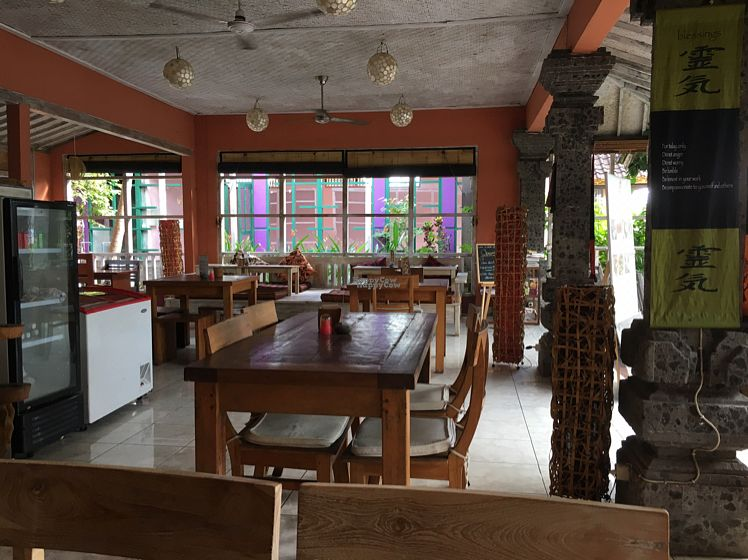 """Photo of Nine Heaven Vegan Warung  by <a href=""""/members/profile/rtiago"""">rtiago</a> <br/>inside <br/> October 20, 2016  - <a href='/contact/abuse/image/50049/183137'>Report</a>"""