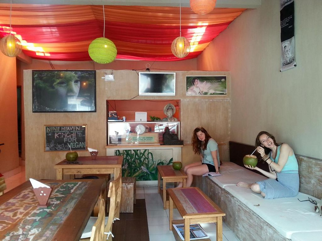 """Photo of Nine Heaven Vegan Warung  by <a href=""""/members/profile/nineheaven"""">nineheaven</a> <br/>Homely <br/> August 4, 2014  - <a href='/contact/abuse/image/50049/75976'>Report</a>"""