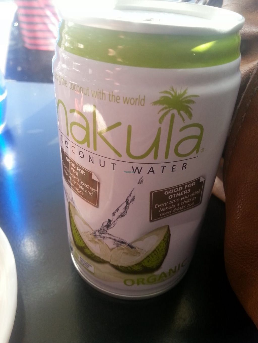 """Photo of Pana Chocolate  by <a href=""""/members/profile/KatieBatty"""">KatieBatty</a> <br/>Coconut water <br/> August 1, 2016  - <a href='/contact/abuse/image/50065/164035'>Report</a>"""