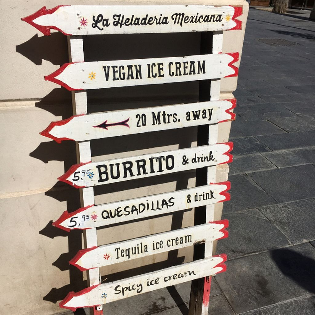 """Photo of La Heladeria Mexicana  by <a href=""""/members/profile/hack_man"""">hack_man</a> <br/>Beach signage  <br/> April 17, 2016  - <a href='/contact/abuse/image/50086/144992'>Report</a>"""