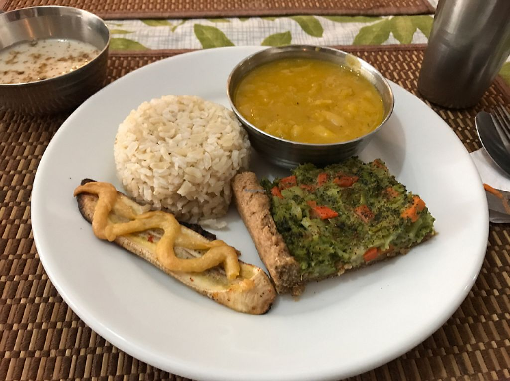"""Photo of Govindas' Natural - Vrinda  by <a href=""""/members/profile/Paolla"""">Paolla</a> <br/>Main dish <br/> May 23, 2017  - <a href='/contact/abuse/image/50094/261594'>Report</a>"""