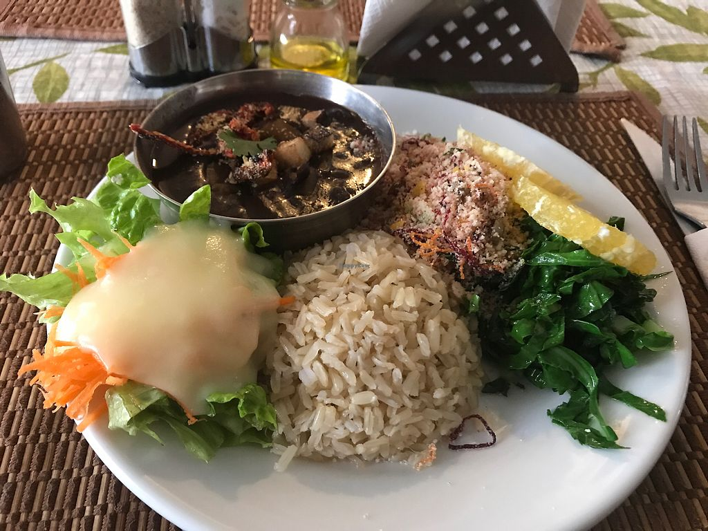 """Photo of Govindas' Natural - Vrinda  by <a href=""""/members/profile/Paolla"""">Paolla</a> <br/>Feijoada <br/> September 9, 2017  - <a href='/contact/abuse/image/50094/302658'>Report</a>"""