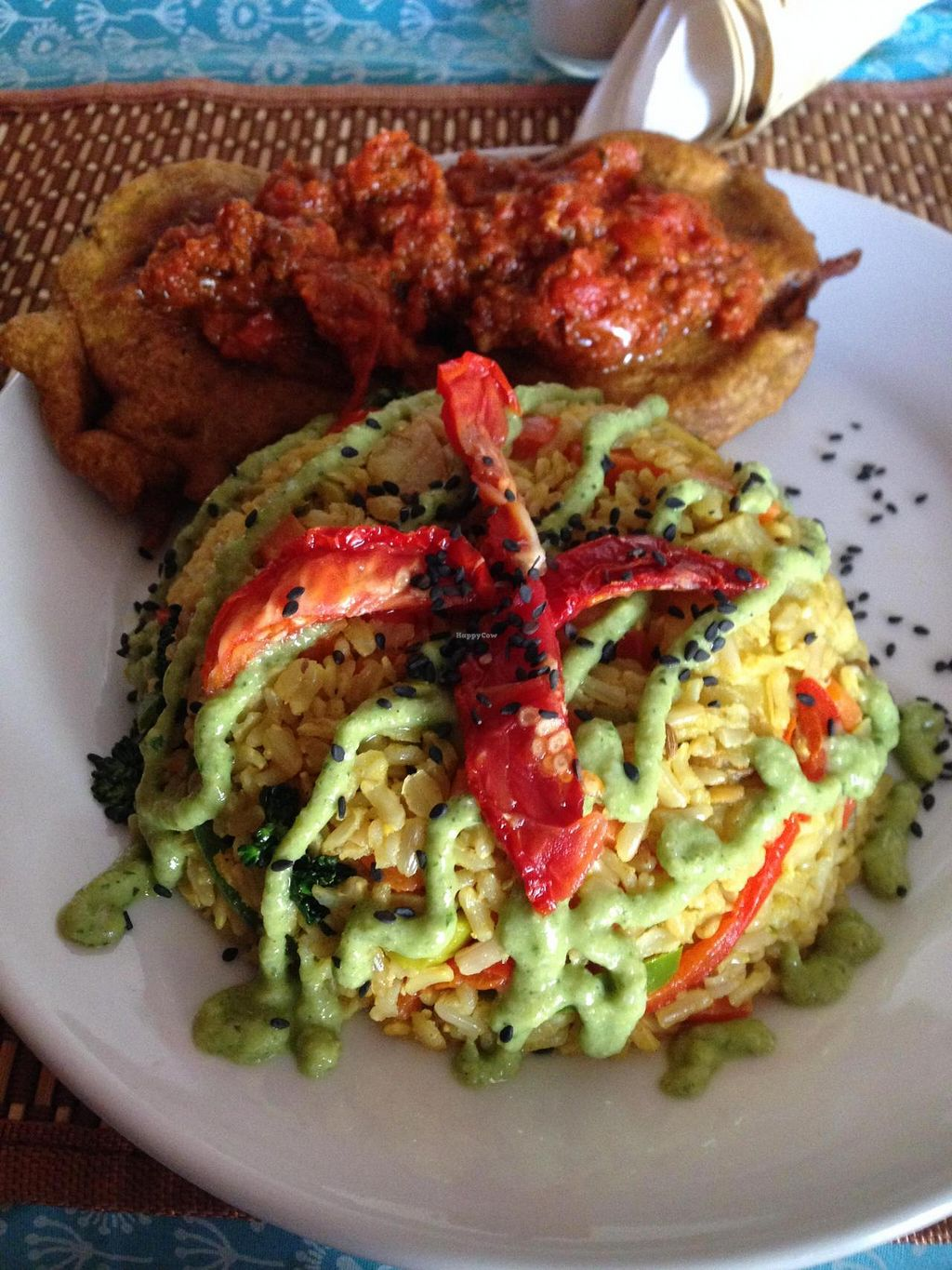 """Photo of Govindas' Natural - Vrinda  by <a href=""""/members/profile/Paolla"""">Paolla</a> <br/>Paella - Tuesday's main dish <br/> August 10, 2014  - <a href='/contact/abuse/image/50094/76588'>Report</a>"""