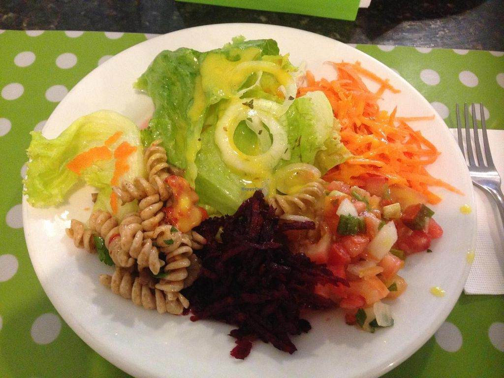 """Photo of Vegg's Restaurante  by <a href=""""/members/profile/Paolla"""">Paolla</a> <br/>Some of the salads options on Thursday: lettuce, carrot, beetroot, pasta salad, onions, vinaigrette with mustard dressing <br/> November 22, 2014  - <a href='/contact/abuse/image/50095/86181'>Report</a>"""