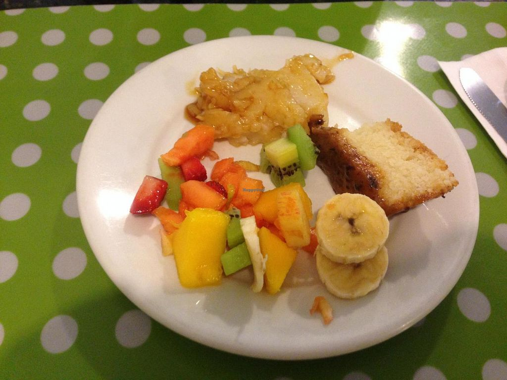 """Photo of Vegg's Restaurante  by <a href=""""/members/profile/Paolla"""">Paolla</a> <br/>Some of the desserts options on Thursday: coconut pudding, plum cake, salad of fruits <br/> November 22, 2014  - <a href='/contact/abuse/image/50095/86183'>Report</a>"""