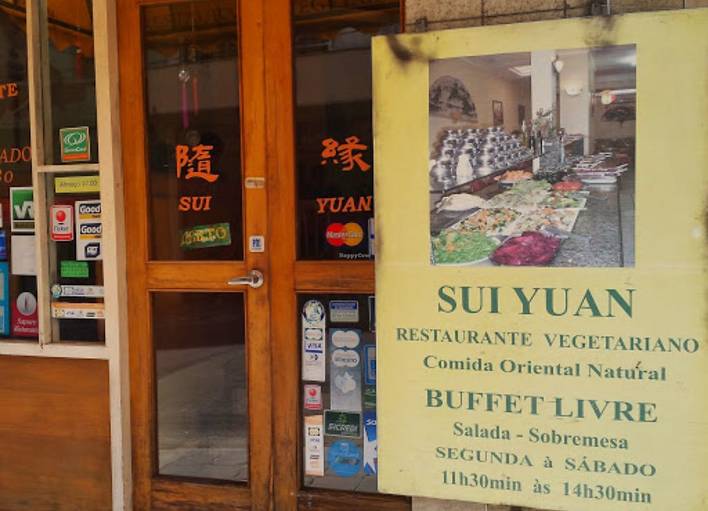 """Photo of Sui Yuan Restaurante Vegetariano  by <a href=""""/members/profile/cedres"""">cedres</a> <br/>Door <br/> October 4, 2017  - <a href='/contact/abuse/image/50125/311621'>Report</a>"""