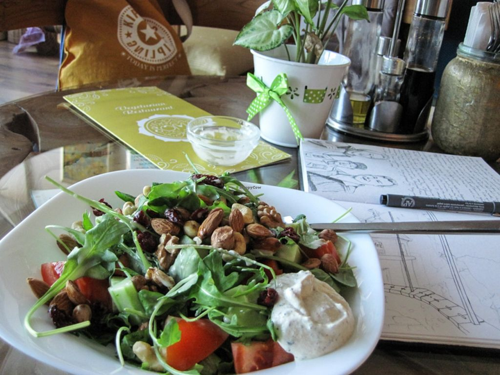 """Photo of CLOSED: Soma Vital Food  by <a href=""""/members/profile/regenevieve"""">regenevieve</a> <br/>When a salad is more than just a side.  <br/> December 9, 2015  - <a href='/contact/abuse/image/50142/127678'>Report</a>"""
