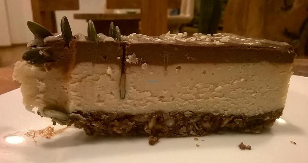 "Photo of CLOSED: Soma Vital Food  by <a href=""/members/profile/Joanna%20Karatsaneva"">Joanna Karatsaneva</a> <br/>Daily Vegan Cake <br/> February 8, 2015  - <a href='/contact/abuse/image/50142/92538'>Report</a>"