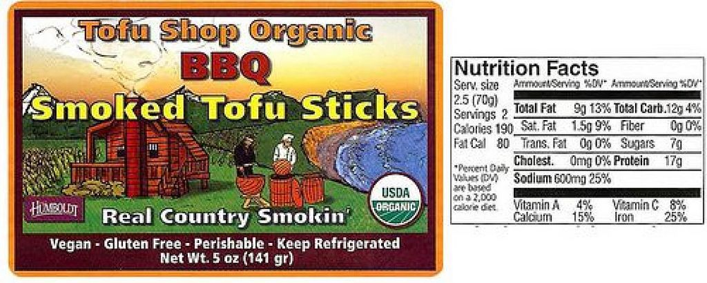 Photo of Tofu Shop  by StephenS <br/>BBQ in 2 flavors!! <br/> August 8, 2014  - <a href='/contact/abuse/image/50158/76307'>Report</a>