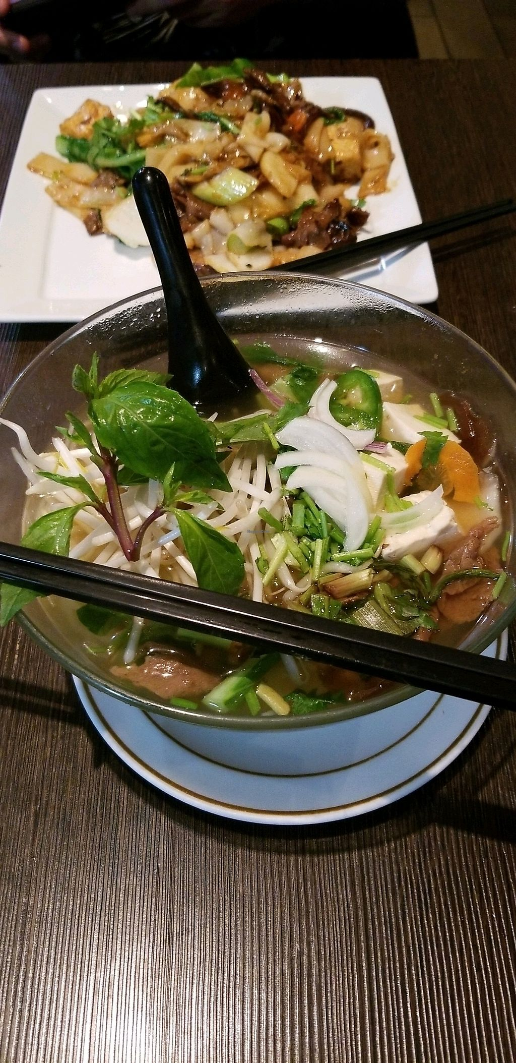 """Photo of Andy Nguyen's  by <a href=""""/members/profile/KatieMac1185"""">KatieMac1185</a> <br/>Pho (front), Chow Fun (back). Yum! <br/> April 9, 2018  - <a href='/contact/abuse/image/5021/382758'>Report</a>"""