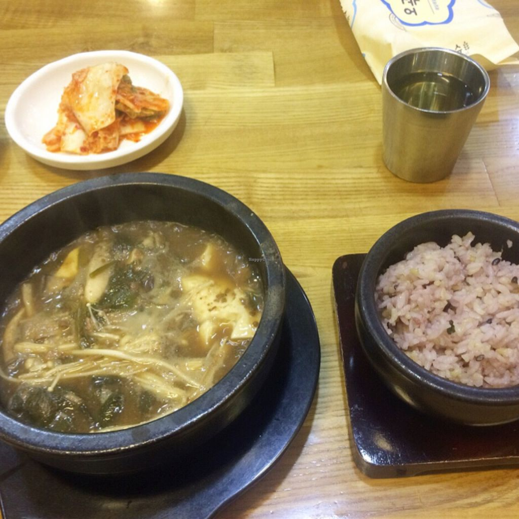 """Photo of CLOSED: Babione - 바비오네  by <a href=""""/members/profile/ItalianChick"""">ItalianChick</a> <br/>Korean stew <br/> September 14, 2015  - <a href='/contact/abuse/image/50225/117653'>Report</a>"""