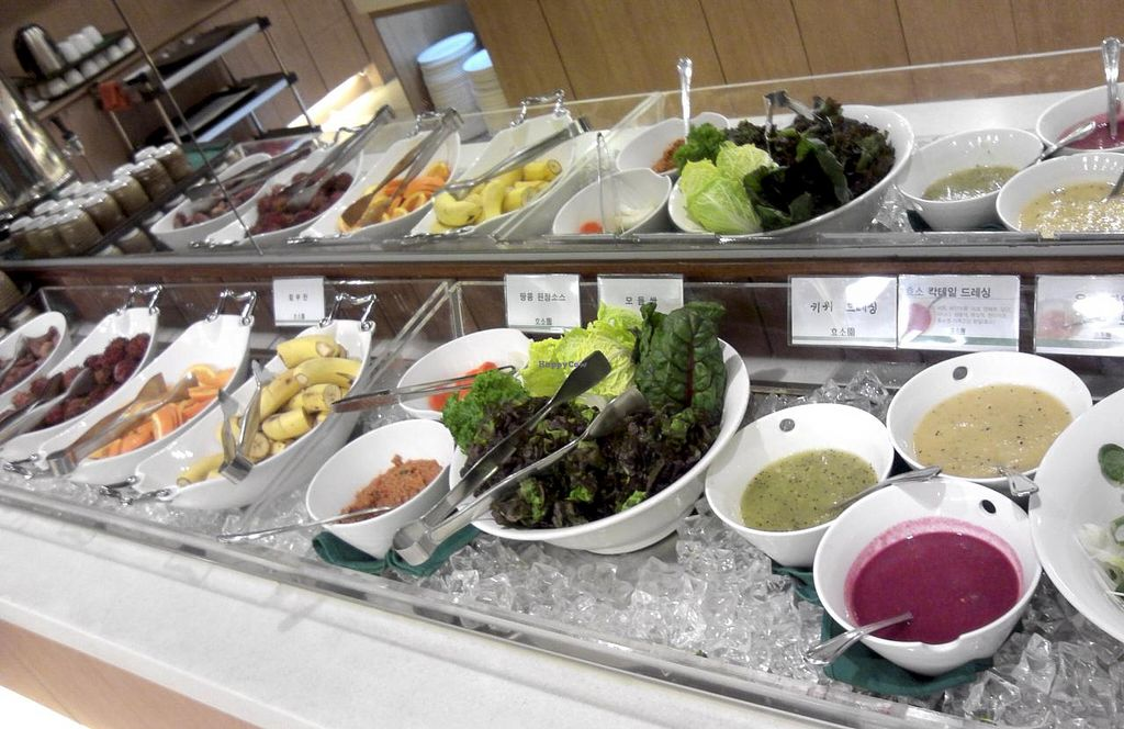 """Photo of CLOSED: Hyosowon  by <a href=""""/members/profile/Gally"""">Gally</a> <br/>The salad section <br/> July 19, 2015  - <a href='/contact/abuse/image/50227/109993'>Report</a>"""