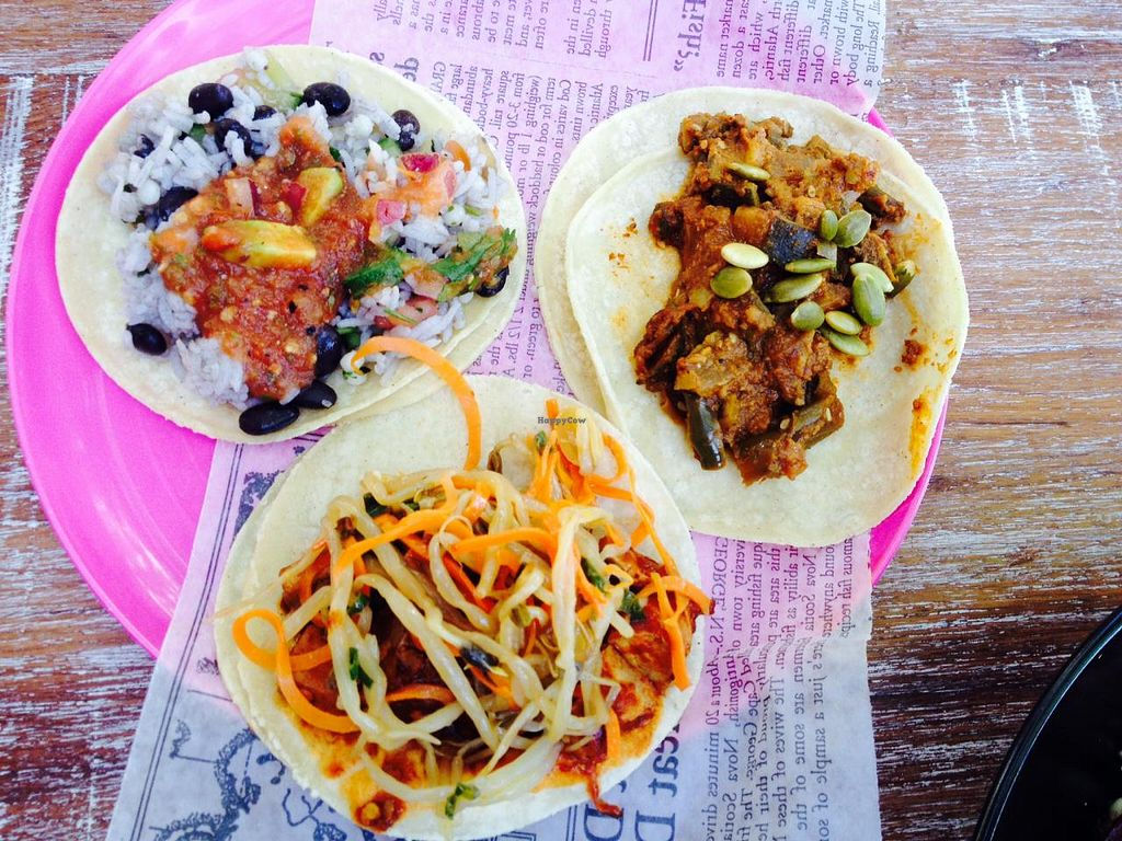 """Photo of La Cantina  by <a href=""""/members/profile/Hayley143"""">Hayley143</a> <br/>Vegan tacos <br/> August 11, 2014  - <a href='/contact/abuse/image/50239/76717'>Report</a>"""