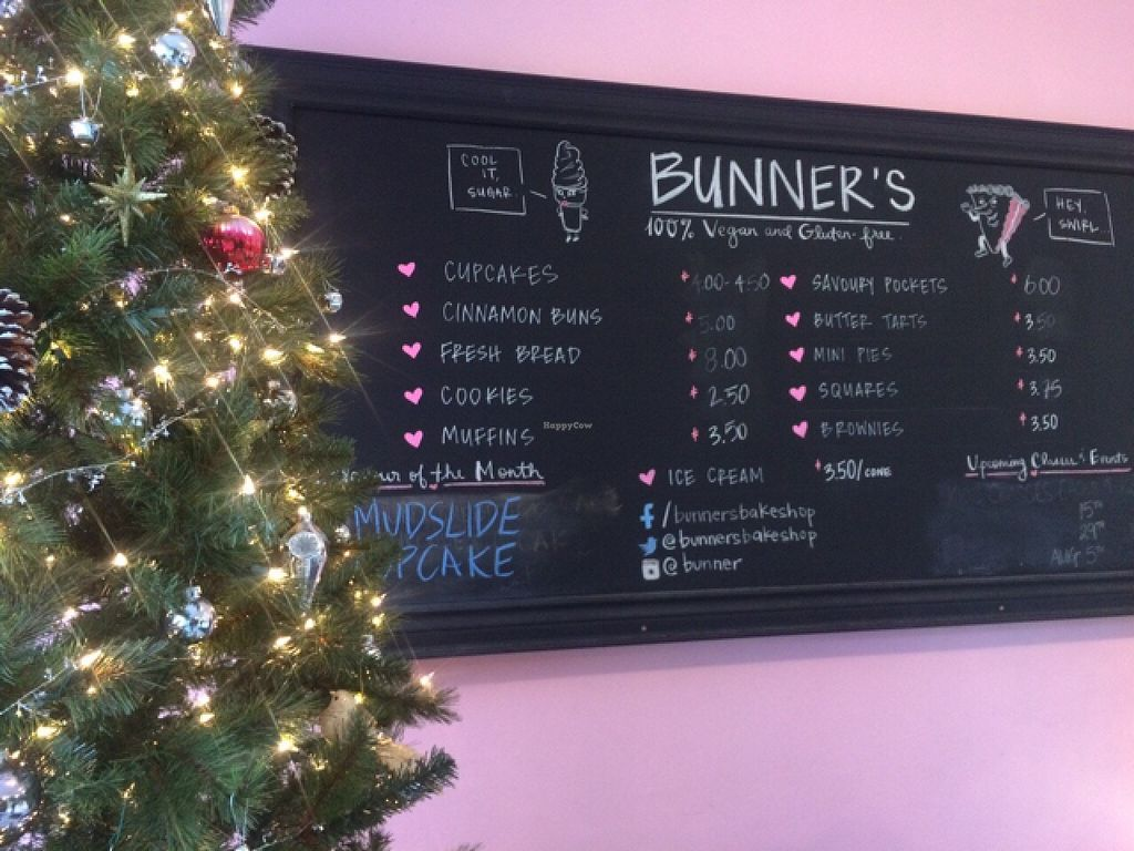 "Photo of Bunner's Bake Shop - Kensington  by <a href=""/members/profile/Sassburger"">Sassburger</a> <br/>Menu  <br/> December 2, 2015  - <a href='/contact/abuse/image/50243/126913'>Report</a>"