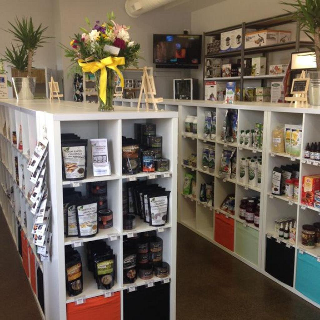 "Photo of CLOSED: VegOut Health Boutique  by <a href=""/members/profile/vegetariangirl"">vegetariangirl</a> <br/>shelves  <br/> August 11, 2014  - <a href='/contact/abuse/image/50245/76700'>Report</a>"