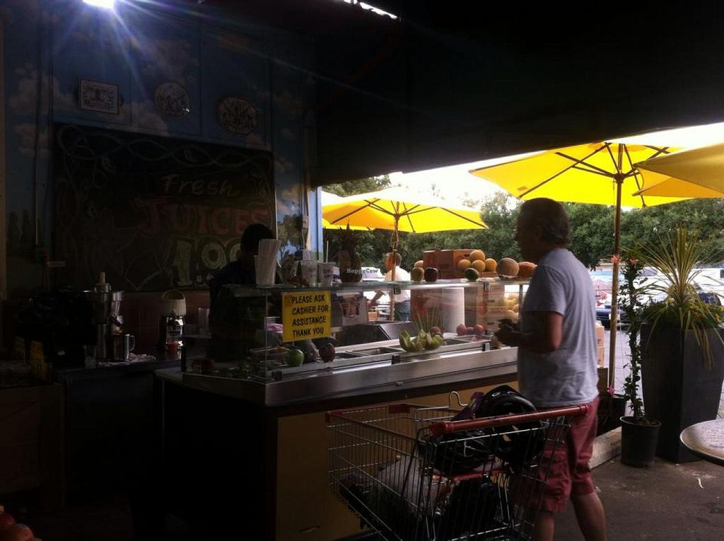 "Photo of CLOSED: Carmel Farmers Market  by <a href=""/members/profile/Karmic%20Vegan"">Karmic Vegan</a> <br/>Juice Bar.  <br/> August 11, 2014  - <a href='/contact/abuse/image/50248/76689'>Report</a>"