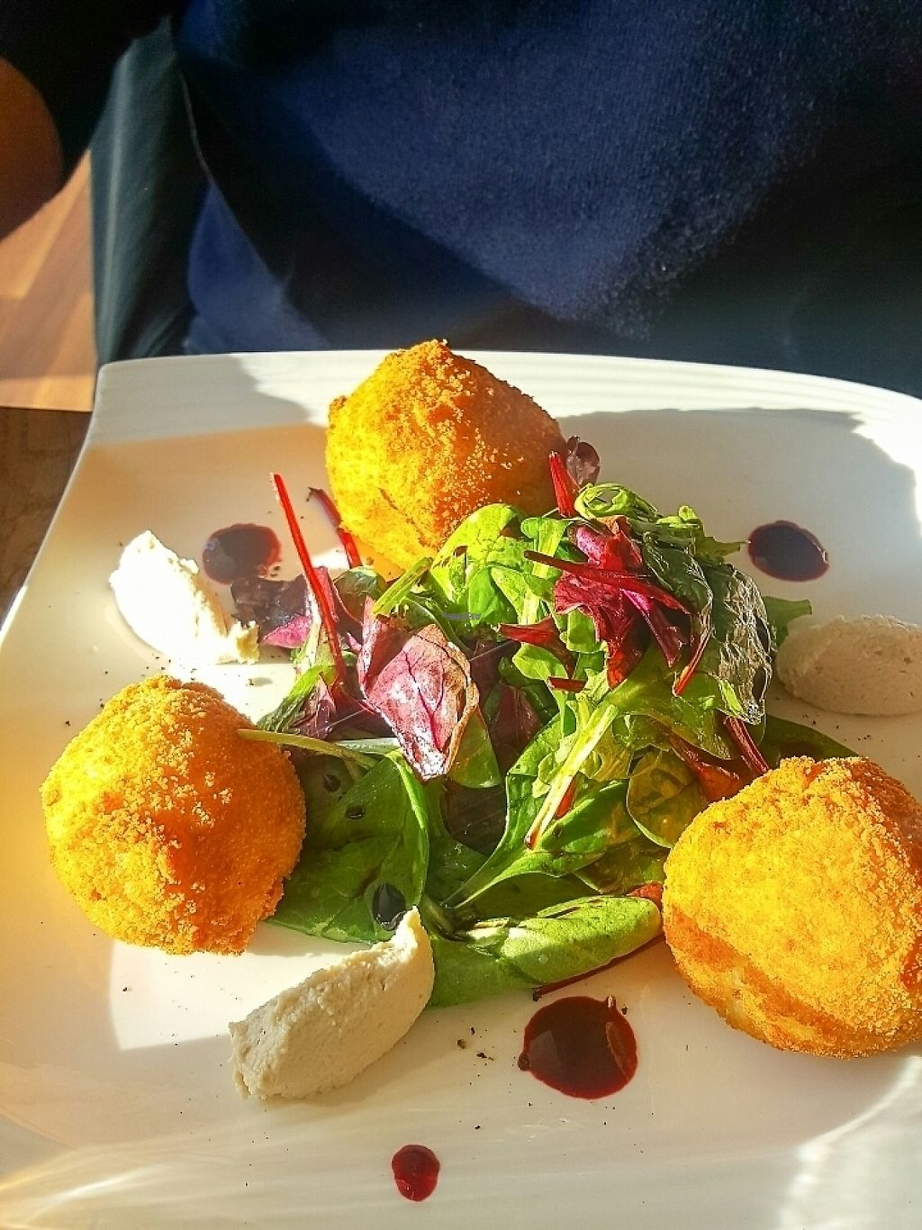 "Photo of The Vegan Eagle  by <a href=""/members/profile/veganverayo"">veganverayo</a> <br/>Risotto balls of the delicious special cheezy menue  <br/> April 14, 2017  - <a href='/contact/abuse/image/50251/247774'>Report</a>"